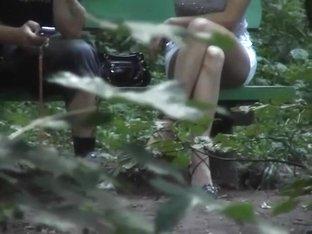 Voyeur twenty in the woods, no pants, merely 4 Voyeurs  (MrNo)