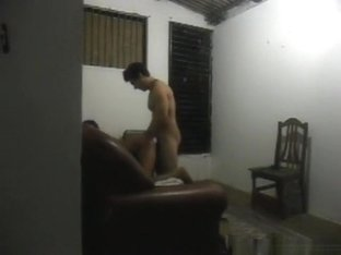 Shy latina girl has oral and doggystyle sex, but doesn't want her face to be shown.