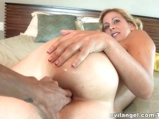 Best pornstars Dana Vespoli, Cherie Deville in Fabulous Blonde, Lesbian adult video