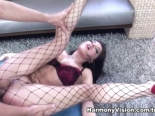 Hottest pornstars in Incredible Brunette, Creampie adult clip