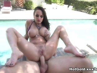 Horny pornstar Alektra Blue in Crazy Brunette, Anal xxx movie