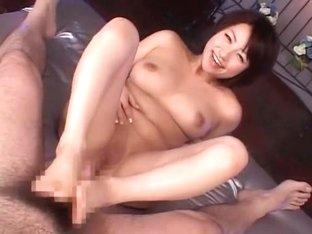 Exotic Japanese girl in Crazy POV, Foot Job/Ashifechi JAV movie