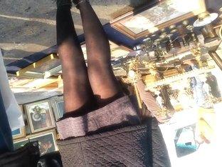 spy sexy skirt and nylon romanian