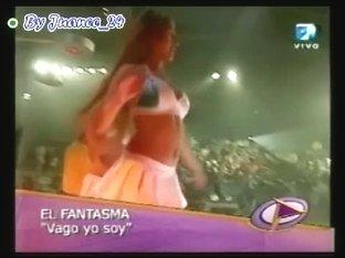 Hot dancer sluts upskirt on tv