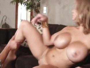 Fabulous pornstar Brandi Love in amazing blonde, milf adult scene