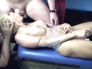 Best pornstar Scarlet Young in horny fetish, blonde xxx video