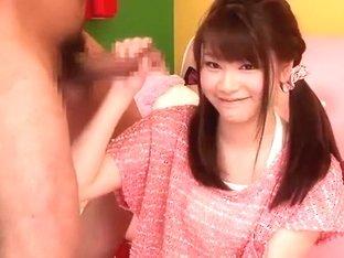 Amazing Japanese girl Rina Oosawa in Incredible Cunnilingus, Lingerie JAV movie