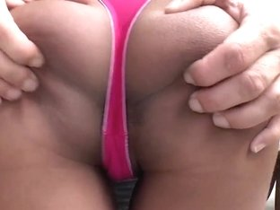 19 year old bombshell  Megan sucks a dick