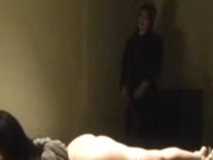 Asian girl tied up helpless and whipped by mistress