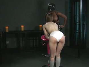 BDSM XXX Big breasted pale skinned subs have holes