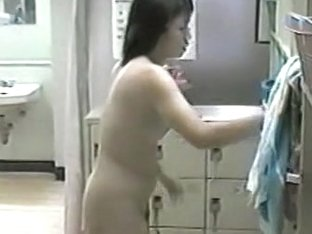 My erotic slut likes to dry herself completely with a towel