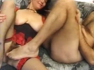 Busty hairy mature maid fucked properly