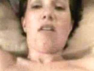 Hairy pussy of adult lady was intensively pounded by her boy