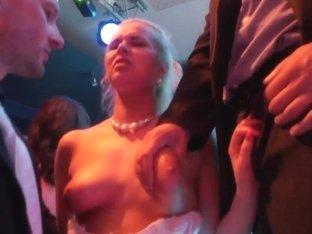 Party glam whore fucking