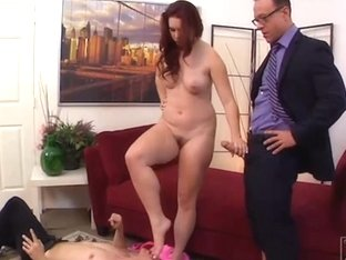 Husband total humiliate dominated by his gf bdsm