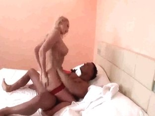 Awesome ebony likes big dick