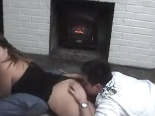 Amateur girl receiving cunnilingus from her husband