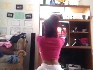 Insane twerk phone dance clip