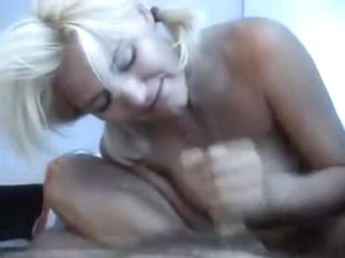 Hot blonde girlfriend shows love for her boyfriend and does a great footjob sex in their tent endi.