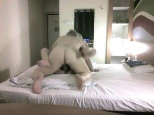 Fucking my boss in hotel with hidden camera