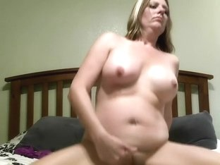Mature woman plays with sex toys