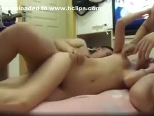 Prurient stewardess is having an amazing threesome