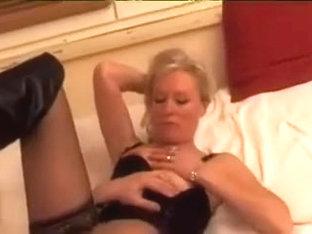 French blond older wife dream to make porn movie scene
