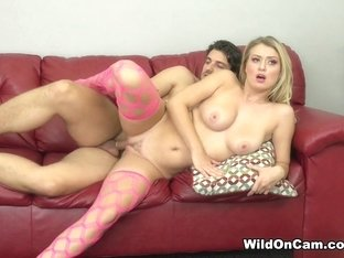 Exotic pornstars Natalia Starr, Jay Smooth in Horny Stockings, Blonde xxx movie