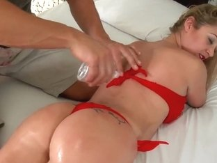 Lusty Rafaella gives head to Roge Ferro