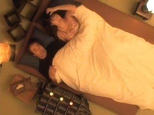 Busty Jap hottie pounded hard in spy cam Asian sex video