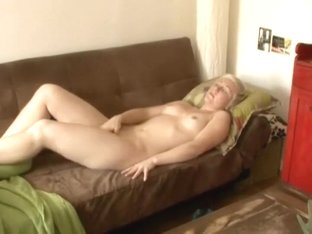 Lonely aunt with a finger in her pussy