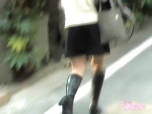 Her ass was not safe from this crafty skirt sharker