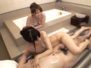 Amazing Japanese model Ruka Ishikawa in Exotic Threesomes JAV video