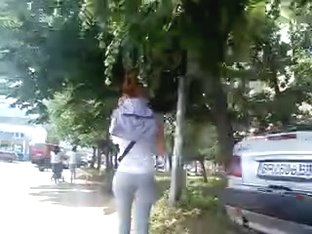 Teen ass in tights