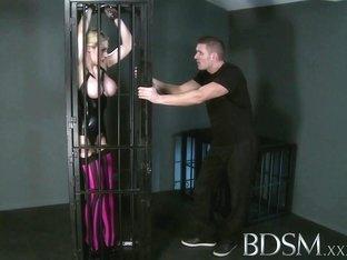 Exotic pornstar in Crazy Stockings, BDSM sex movie