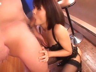 Amazing Japanese slut Azumi Harusaki in Fabulous Stockings, Dildos/Toys JAV video