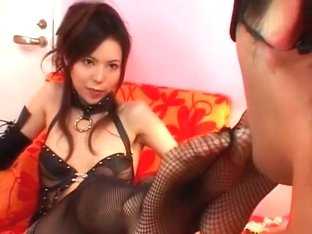 Hottest Japanese slut Rino Asuka in Crazy Fetish, POV JAV clip