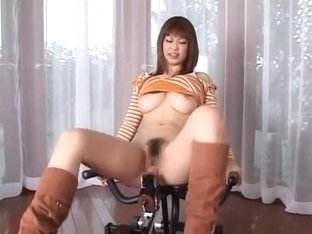 Fabulous Japanese slut Haru Aoki in Amazing Big Tits, Masturbation JAV movie