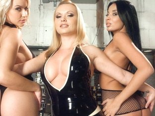 Incredible fetish, anal porn movie with hottest pornstars Anissa Kate, Anikka Albrite and Katja Ka.