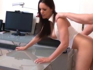 I'm doggy-style boned in my brunette amateur video