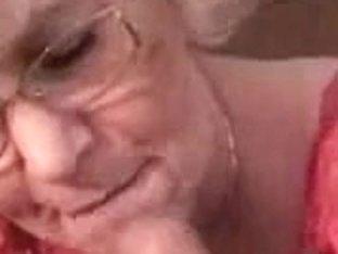 Granny Head #5 (Smokin') Cum for the Teacher