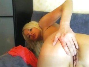 Gorgeous Blonde Teen Fingering