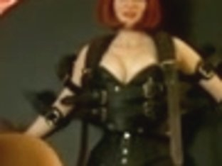 Femdom Domme Annabelle and her obscene female villein