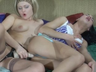StraponSissies Movie: Jaclyn A and Arthur B