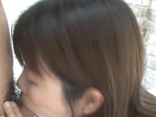 Cock sucking Yuuno Hoshi wants to swallow