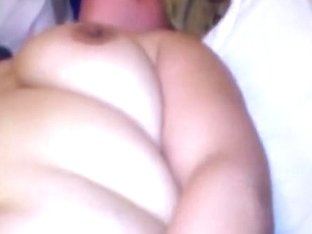 Fisting my fat wifes pussy