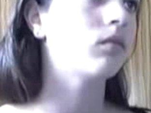 Webcam Dark-haired Teen