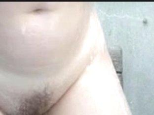 Kinky MILF washes in hot voyeur shower room video