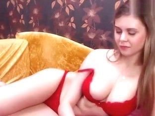 Pretty Playfulmouse in red underwear