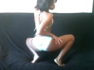 Black girl with tiny body